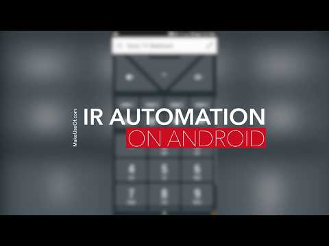 Home Automation with Anymote on Android - YouTube