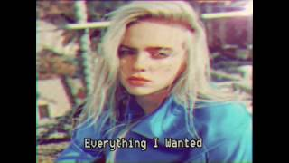 Gambar cover #Mashup |  Billie Eilish - Everything I Wanted from 1980s (Audio)