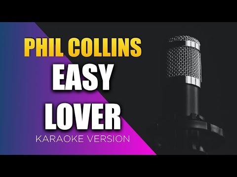 Phil Collins - Easy Lover (Lyrics on Screen) KARAOKE!