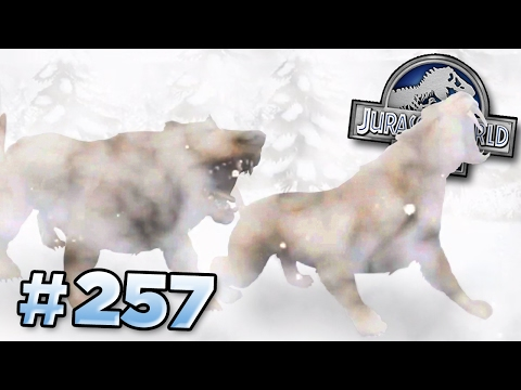 Glacier Creatures Revealed!!! || Jurassic World - The Game -