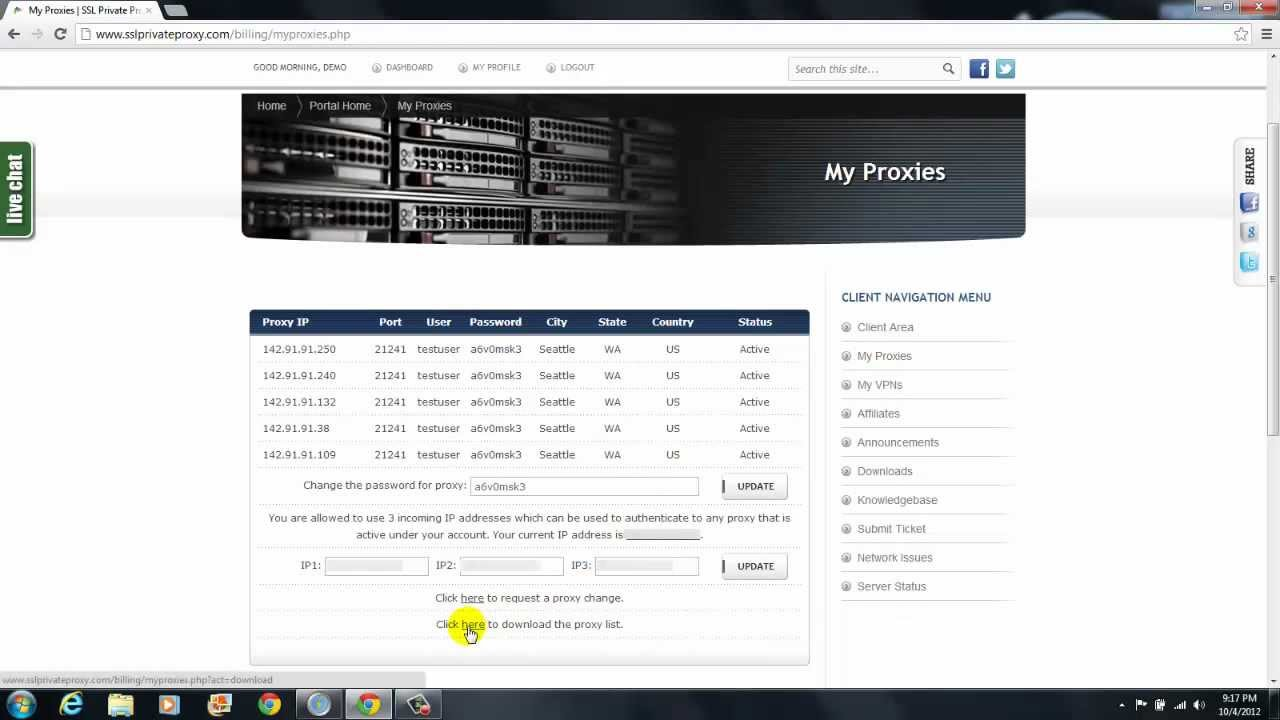 Premium Private SOCKS Proxy & HTTP Proxy | VirMach com | The