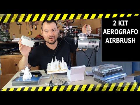 Werku WK500800 Mini compressore aerografo