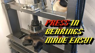 2001-2012 Ford Escape Humming Roaring Noise: Front Wheel Bearing Replacement