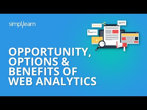 Opportunity, Options & Benefits Of Web Analytics | Web Analytics Tutorial