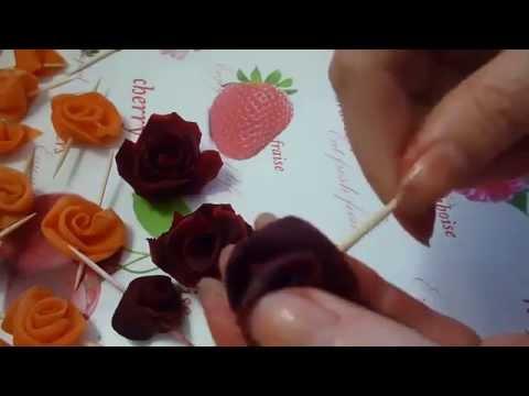 как сделать розу из свеклы пошаговая инструкция - фото 7
