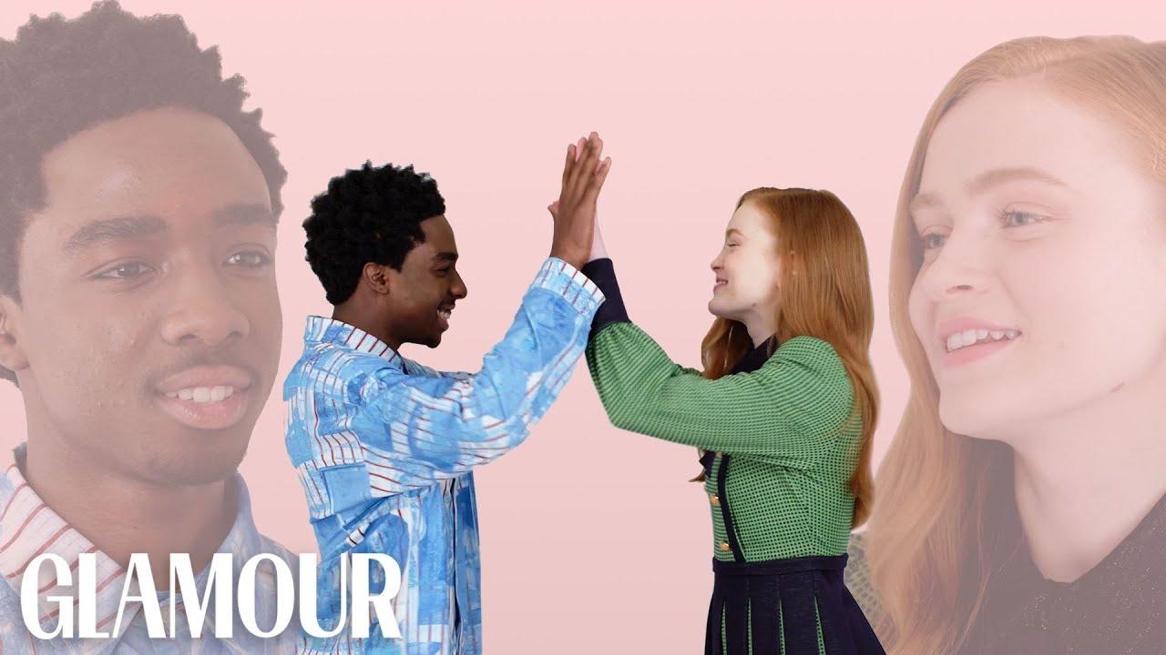 Download Stranger Things' Caleb McLaughlin and Sadie Sink Take a Friendship Test   Glamour