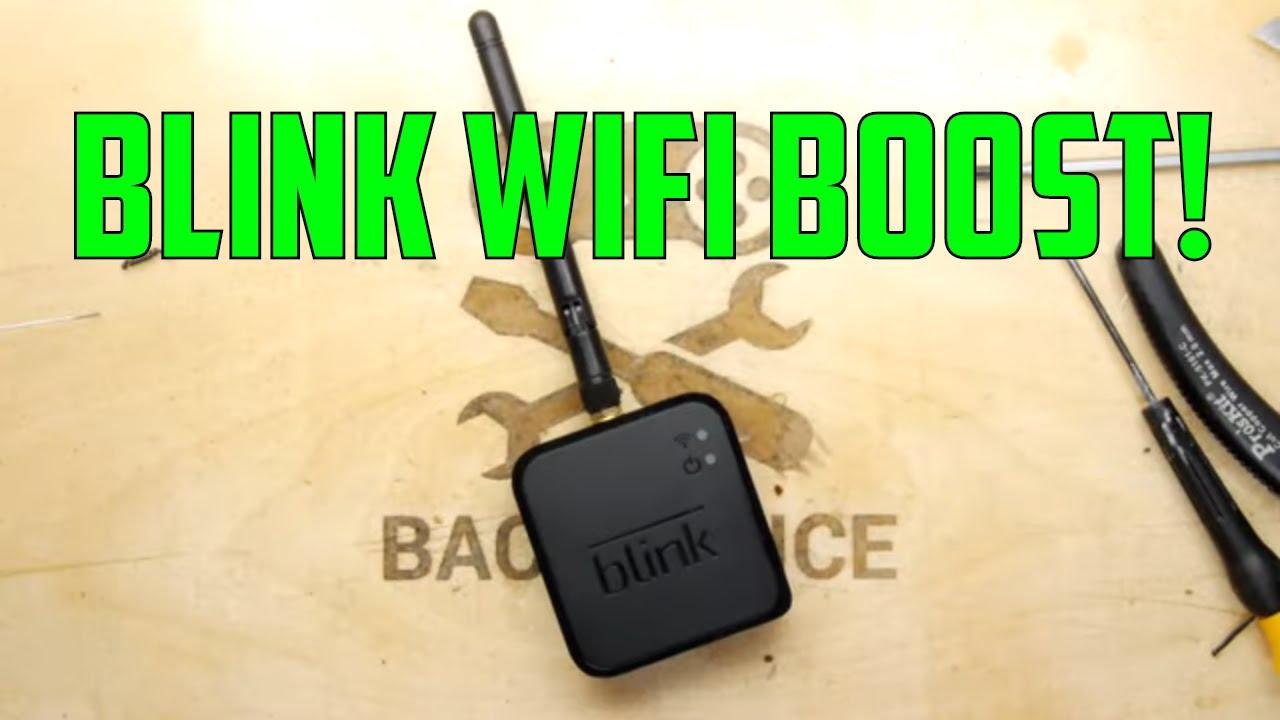 TDL- Blink Camera WIFI range hack