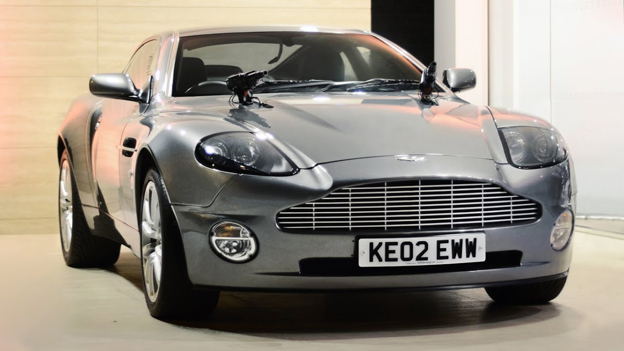 James Bond Aston Martin Vanquish