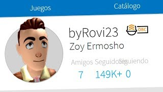 WE TRY TO create a REAL LIFE PROFILE in ROBLOX Rthro Rovi23