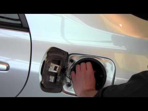 toyota corolla fuel door release lever