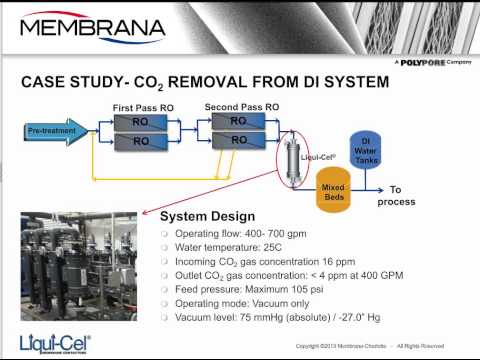 Controlling Dissolved Gases In Power Plant Water Systems With Gas Transfer Membranes