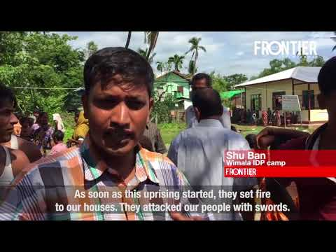 What is happening to Hindu families in Maungdaw, Rakhine?