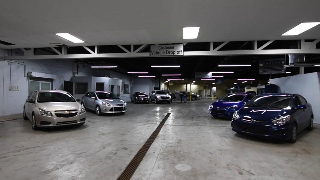 Luxury Auto Repair Service Area - YouTube