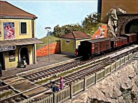 Modellismo Ferroviario:E626 mdf+Ale 803 sound by Portigliatti.wmv