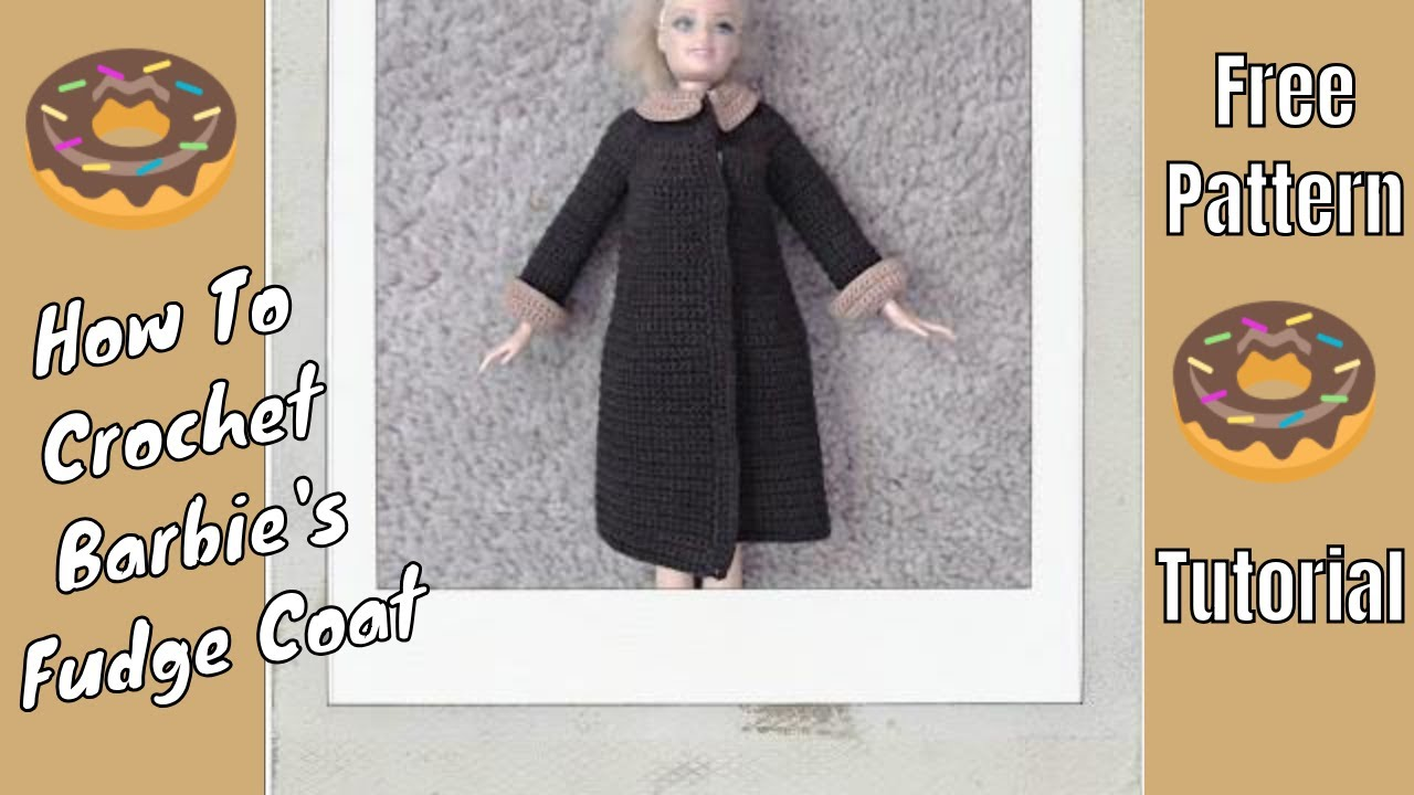 Barbie Clothes Chocolate Fudge Coat Youtube