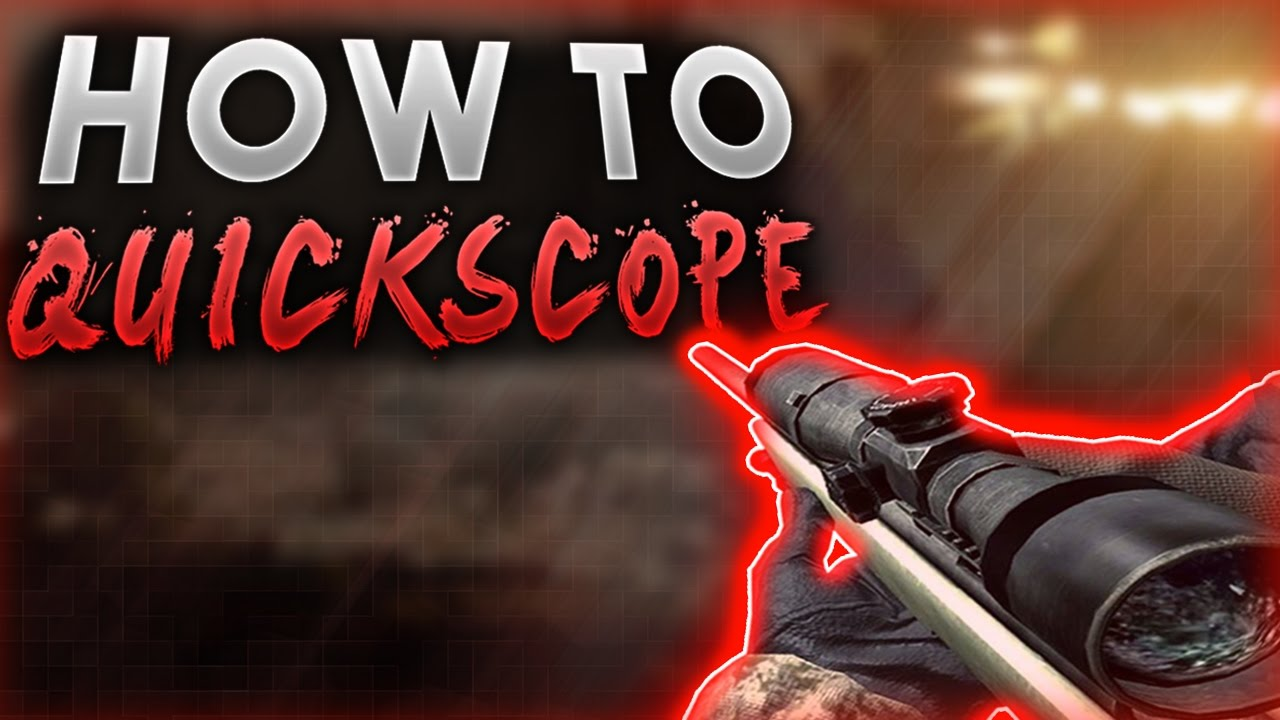 How to quickscope on ww2! Best sniper rifle class setup! Cod world.