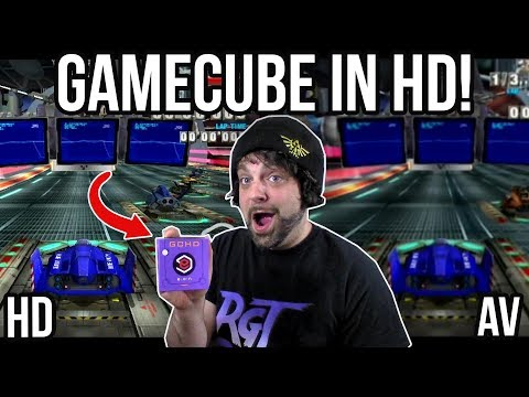 GameCube in HD Looks AMAZING - GCHD Adapter Review | RGT 85