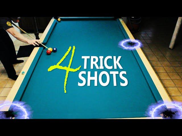 4 Pool Trick Shots: Volume 9