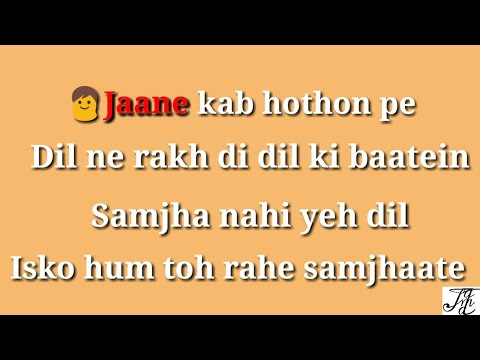 Hangover teri yaadon ka karaoke song with...