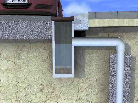 Uitzonderlijk Verticale drainage - YouTube QJ34