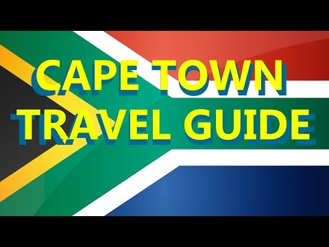 Cape Town South Africa : Travel guide, Adventures, Places to Visit and  Things to do in Cape Town