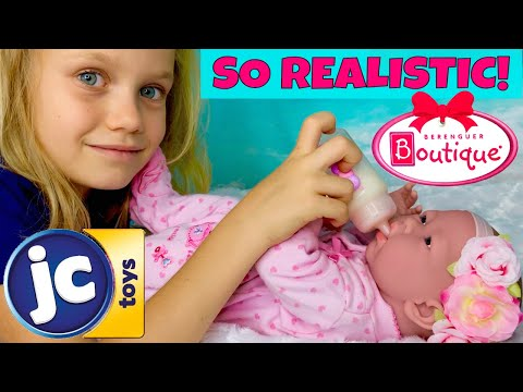 "🤩Surprise Berenguer Boutique Doll Review! 🎀JC Toys 15"" Baby Doll For Skye: Will She Like Her?🤔"