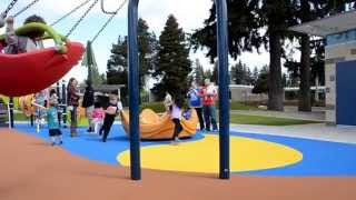 Renton's New Meadow Crest (inclusive) Playground Is Now Open!