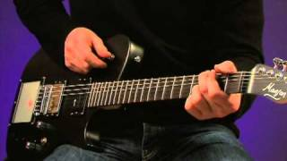 manson MB-1 & Parker MIDI Fly video review demo Guitarist Magazine