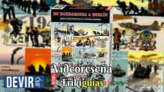 De Barbarossa a Berlín - Devir - Videoreseña