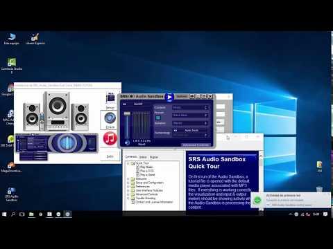 SRS AUDIO SANDBOX FULL CRACK  2018 [DE POR VIDA] PARA WINDOWS 7,8,10 --32 Y 64 bits