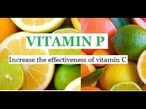 VITAMIN P (C Complex, Citrus Bioflavonoids, Rutin, Hesperidin)