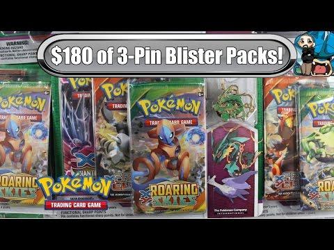 Opening 12x Mega Evolution Latios & Rayquaza 3 pin Packs! 36 Total booster packs - Pokemon TCG