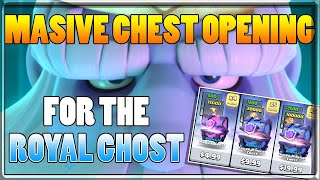Clash Royale Royal Ghost New Legendary Opening All Special Holiday Offer Chests No Gameplay