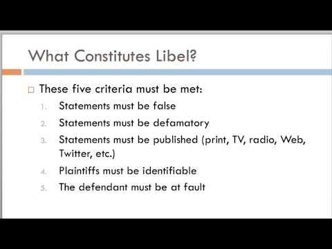 MC1313: Media Law And Ethics