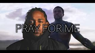 The Weeknd Kendrick Lamar Pray For Me instrumental.mp3