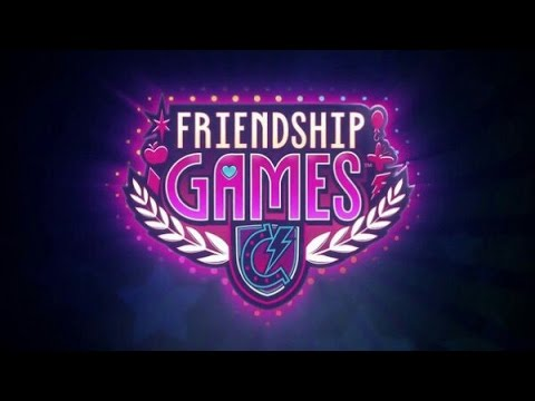 (Rus Voice)MLP Equestria Girls Friendship Games Sunset Shimmer defeats Midnight Sparkle-На Русском