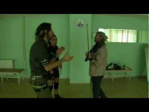 Gogol Bordello @ Moscow - part 1/4 - rehearsal
