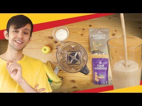 Proteinové vegan smoothie - hotové za 3 minuty