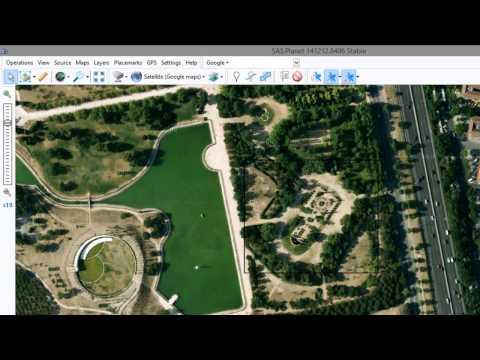Inserción de imagen de Google Earth en AutoCAD, Bing, Nokia, Yahoo Maps sin Global Mapper