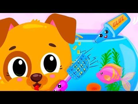 Fun Baby Pet Care Kids Game - Cute & Tiny Pets Superhero Baby Games - Fun Pet Care Kids Cartoon Game - 동영상