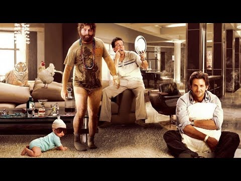The Hangover Movies -Zach Galifianakis, Bradley Cooper, Justin Bartha Movies HD