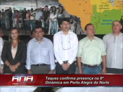 Taques confirma presença na 8ª Dinâmica em Porto Alegre do Norte