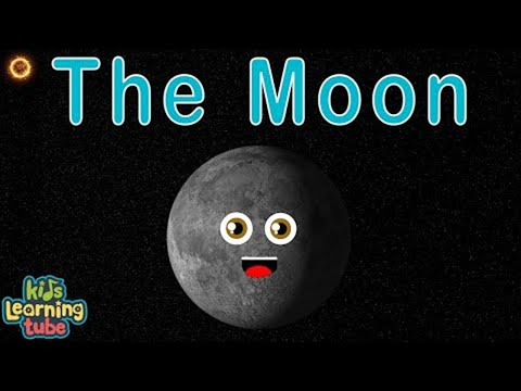 The Moon/Moon Songs For Kids/Moon Song for Children