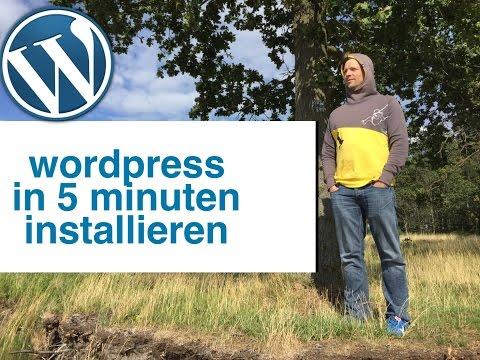 WordPress installieren: Tutorial / Anleitung (Deutsch) Webgo Installation