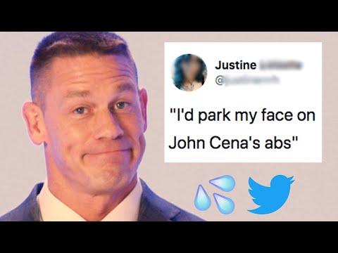 John Cena Reads Hilarious Thirst Tweets