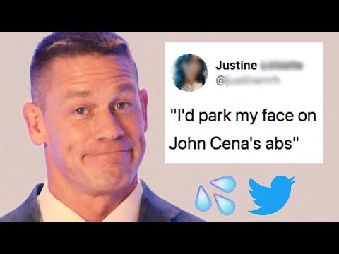 John Cena Reads Hilarious Thirst Tweets