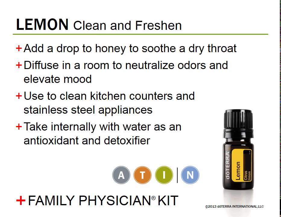 How to use your DoTerra Family Physician Kit - YouTube