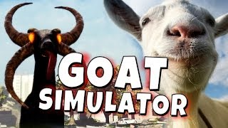 Repeat youtube video Goat Simulator - Demon Goat - Funny Moments