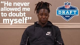Shaquem Griffin Gets Emotional Watching a Message from His Brother | 2018 NFL Draft