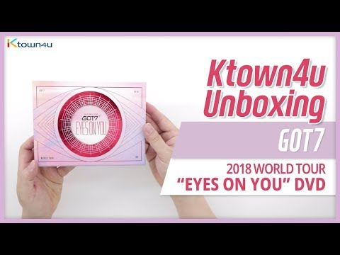 Unboxing GOT7 2018 World Tour 'EYES ON YOU' DVD ガッセブン 갓세븐 언박싱 Kpop Ktown4u